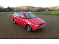 VOLKSWAGEN POLO 1.4 CL 5dr (red) 1997