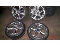 Ford fieata st alloy wheels
