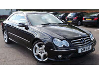 2006 06 MERCEDES CLK 320 CDI SPORT COUPE AMG AUTO DIESEL(PART EX WELCOME)***FINANCE AVAILABLE*