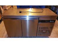 Inomak PN99 Commercial 2 Door Counter Fridge. Great Conditions. London NW10