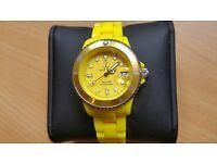 ToyWatch Women's Yellow Plasteramic Quartz Watch
