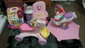 Fisher price and vtec toy bundle