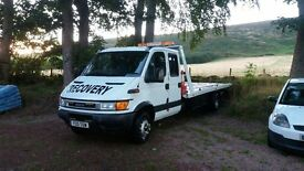 vehicle recovery service near Huntly