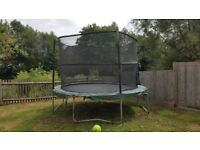 12ft JumpKing Deluxe Trampoline Good Condition - With Extra Dome
