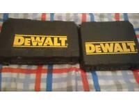 DEWALT STORAGE BOXES X2