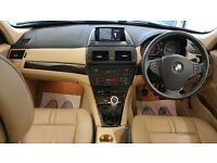 2008 | BMW X3 2.0 20d SE 5dr | 9 Months MOT | SAT NAV | Beige Leather | Parking Sensors