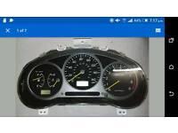 Subaru WRX gauge cluster