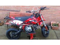 Stomp 125cc 125 / 140cc 140 road legal pitbike pit bike stunt ready