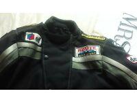 motorbike jacket size small adults