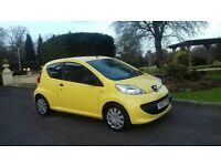 57 PLATE PEUGEOT 107. **sold**