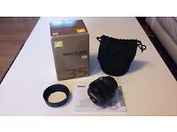 Nikon AF-S DX NIKKOR 35mm f/1.8G mint condition