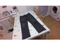 black ripped jeans size 14