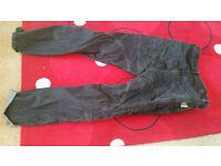 Kevlar jeans motorcycle trouser