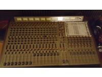 Allen and Heath System 8 with handbook and power supply