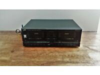 *** JVC TD-W700 is a stereo double cassette deck ***