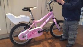Girls pink bike - Ridgeback Honey