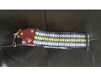 Saxophone strap cloth leather NEW