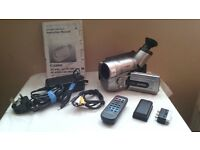 cannon hi8 camcorder plus accesories