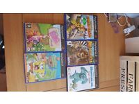 Ps2 game bundle of 5 games. Excellent condition