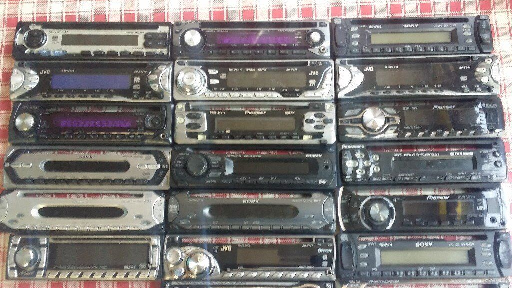 CAR CD PLAYER FACIA JOBLOT