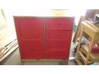 Childrens storage drawers