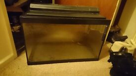 2ft fish tank (light not working)