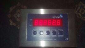 Stevens Apex Junior AJ02 Industrial Weighing Terminal Platform Scale