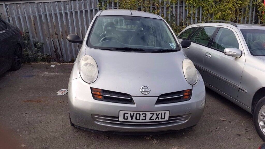 2003 Nissan Micra 1.0e moted px to clear bargain