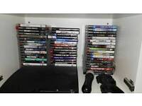 PS3 console and 57 games