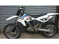 BMW G450X Very capable trail bike