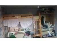 Chester high rise, high sleeper, loft bed