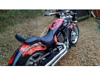 Victory Vegas American muscle bike, like Harley Davison