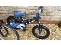 "Childs Apollo Moon Man bike. 14"" Wheels, 3-6 Years"
