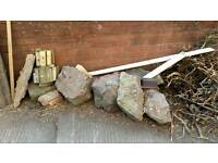 Large rockery stones