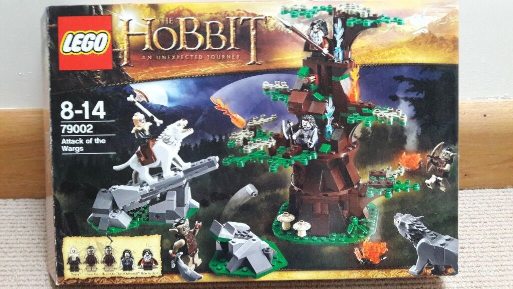 Lego 79002 The Hobbit - Attack Of The Wargs