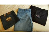 Brand new unworn big and tall mens jeans
