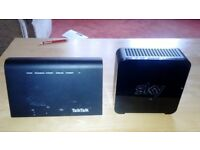 Talktalk and Sky routers