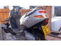 PEUGEOT ELYSEO 125 SCOOTER 12 months mot