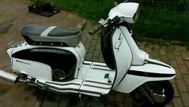 Lambretta sx150 ts225