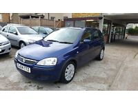 2004 Vauxhall Corsa 1.2 i 16v Active 5dr / 2 OWNERS / LOW MILEAGE