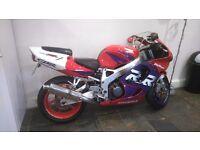 1998 honda fireblade rrw, very good condition , px ,deal