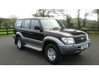 1997 toyota landcruiser 8 seater full mot £2995
