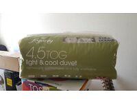 Brand New 4.5 Tog Double Duvet