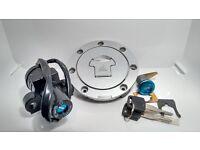 Honda VFR 400 NC30 Fuel Cap-Ignition-Lock Set