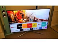 SAMSUNG UE49MU6470 49 Inch Smart 4K Ultra HD HDR LED TV - please read full description)