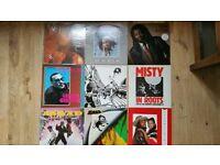"Reggae Albums And 12"" Singles."