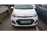 Hyundai I10 1.2 SE 5dr Very lower miles and very good.