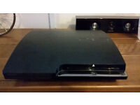 Sony Playstation 3 with 10 games, God of war Remaster, Assasins Creed Revelation, Black ops 2, MW2,