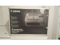 Brand New Boxed Canon i-SENSYS FAX-L140 Laser Fax Machine with Warranty