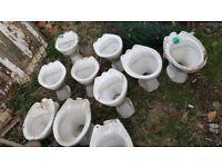 Toilet pans (Various types)